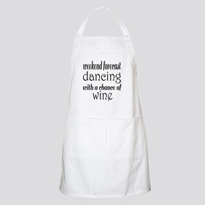 Dancing and Wine Apron