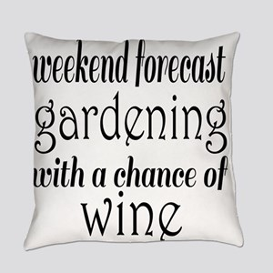 Gardening and Wine Everyday Pillow