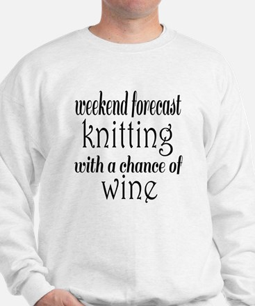 Knitting and Wine Jumper