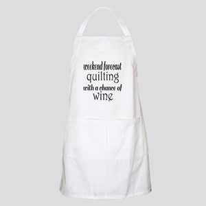 Quilting and Wine Apron