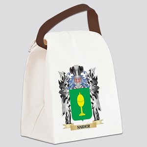 Snider Coat of Arms - Family Cres Canvas Lunch Bag