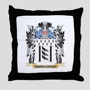Snodgrass Coat of Arms - Family Crest Throw Pillow