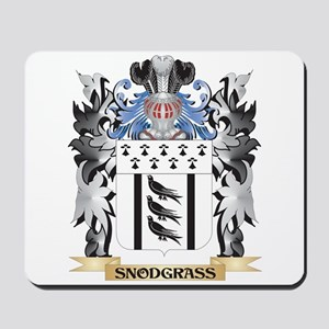 Snodgrass Coat of Arms - Family Crest Mousepad