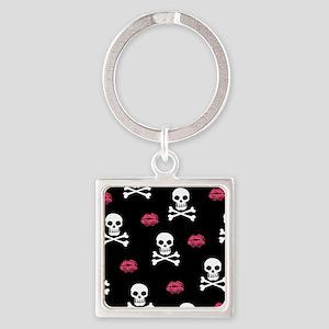 kiss-skulls_bl_b Keychains