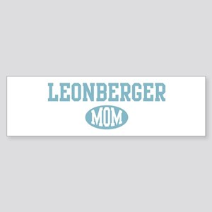 Leonberger mom Bumper Sticker