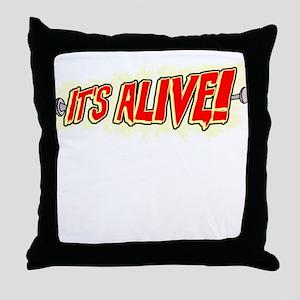 It's Alive! Throw Pillow