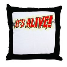 It's Alive! Throw Pillow
