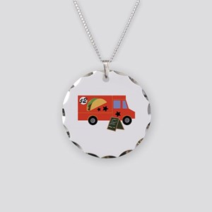 Taco Truck Necklace