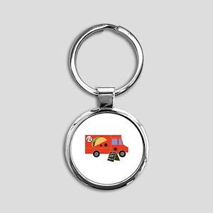 Taco Truck Keychains