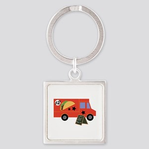 Taco Truck Keychains