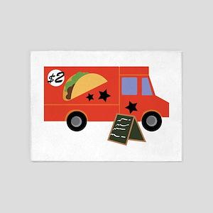 Taco Truck 5'x7'Area Rug
