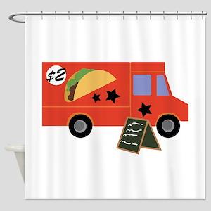 Taco Truck Shower Curtain