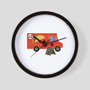 Taco Truck Wall Clock