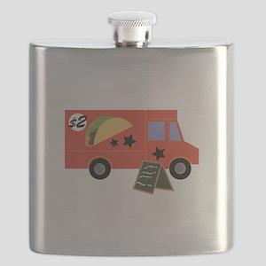 Taco Truck Flask