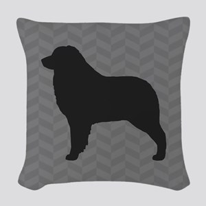Australian Shepherd Woven Throw Pillow