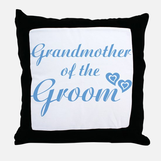 Grandmother of the Groom Throw Pillow