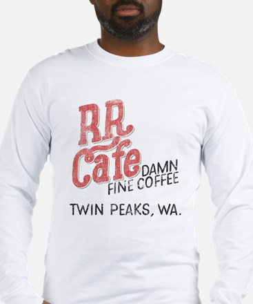 Twin Peaks RR Cafe Long Sleeve T-Shirt