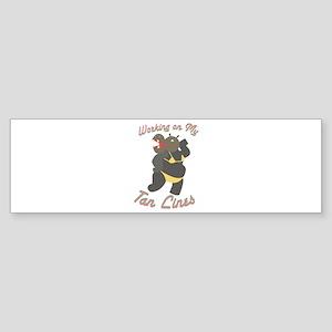 My Tan Lines Bumper Sticker