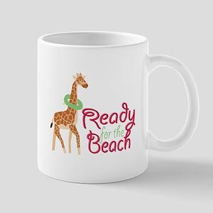 Ready For Beach Mugs