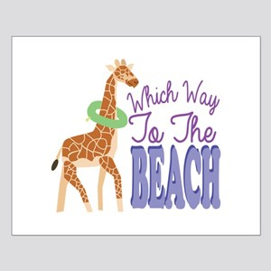 To The Beach Posters