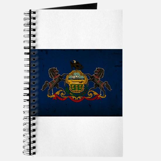 Pennsylvania State Flag VINTAGE Journal