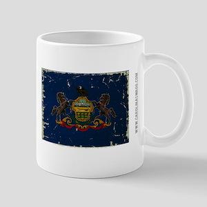 Pennsylvania State Flag VINTAGE Mug