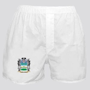Spillings Coat of Arms - Family Crest Boxer Shorts