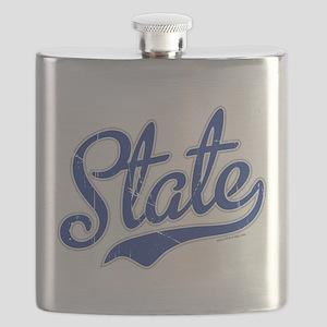 State Script VINTAGE Flask