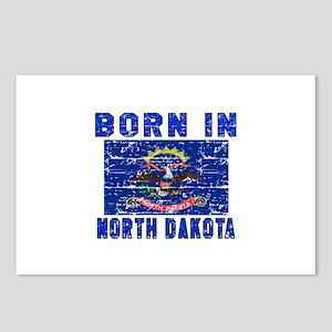 Born in North Dakota Postcards (Package of 8)