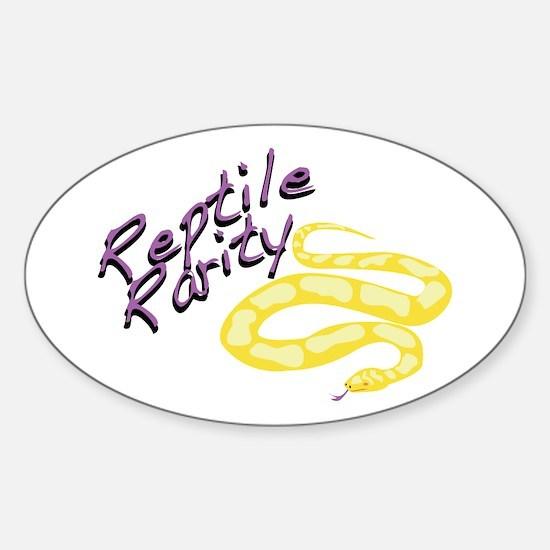 Reptile Rarity Decal