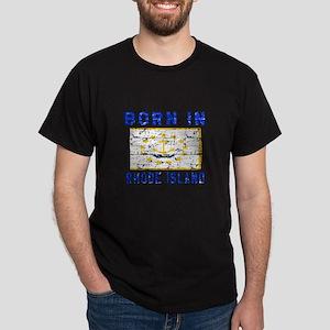 Born in Rhode Island Dark T-Shirt