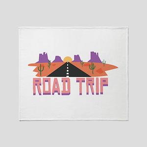 Road Trip Throw Blanket