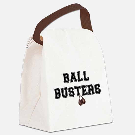 BALL BUSTERS - Canvas Lunch Bag