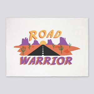 Road Warrior 5'x7'Area Rug