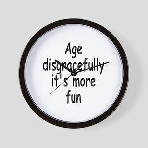 Disgracefully 2 Wall Clock