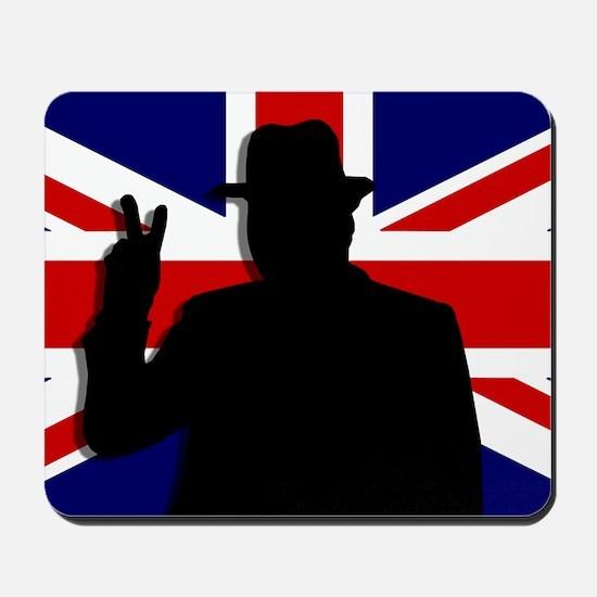 Winston Churchill Victory Mousepad