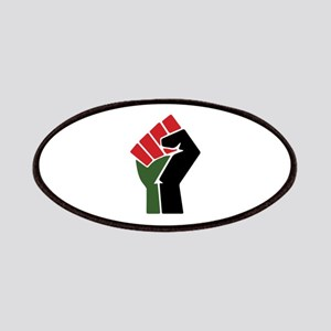 Black Red Green Fist Patch
