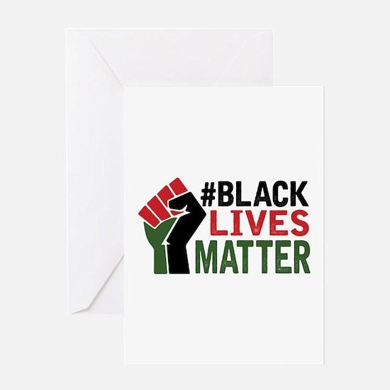 #Black Lives Matter Greeting Cards