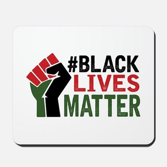 #Black Lives Matter Mousepad
