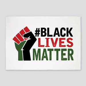 #Black Lives Matter 5'x7'Area Rug