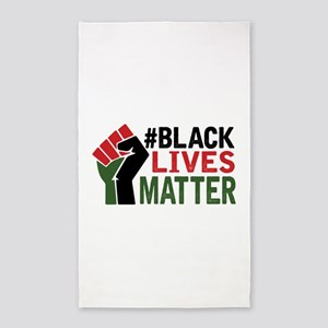 #Black Lives Matter Area Rug