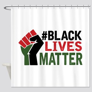 #Black Lives Matter Shower Curtain