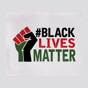#Black Lives Matter Throw Blanket