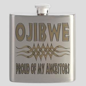 Ojibwe Ancestors Flask