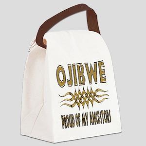 Ojibwe Ancestors Canvas Lunch Bag