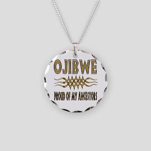Ojibwe Ancestors Necklace Circle Charm
