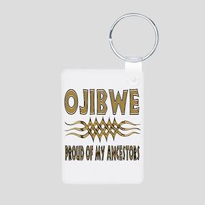 Ojibwe Ancestors Aluminum Photo Keychain