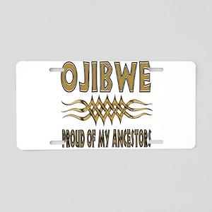 Ojibwe Ancestors Aluminum License Plate