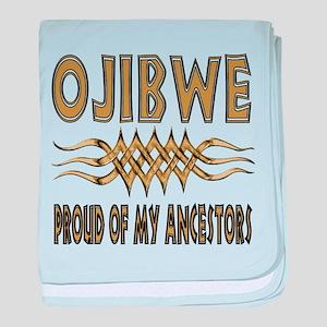 Ojibwe Ancestors baby blanket