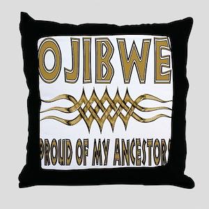 Ojibwe Ancestors Throw Pillow